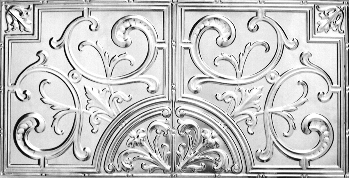 Victoria Pressed Metal Panel (4 feet x 2 feet)